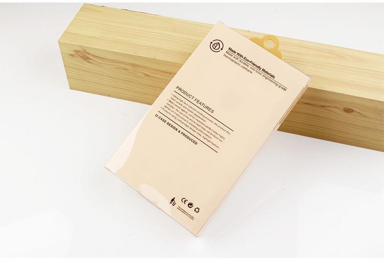 en gros Étanche À La Poudre De Mode Téléphone Shell Case D'emballage Boîte pour iphone 7 7plus Cas De Téléphone Mobile PVC Emballage Clair