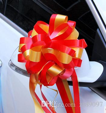 2018 ribbon pull flower bows wedding car decoration wedding car 2018 ribbon pull flower bows wedding car decoration wedding car accessories wedding flowers from zf89097 2513 dhgate junglespirit Gallery