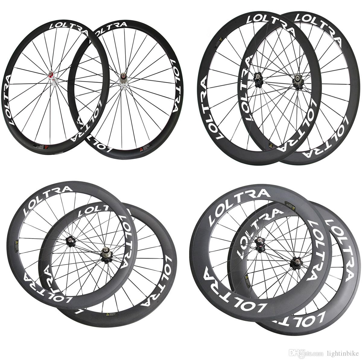White decal full carbon 24mm 38mm 50mm 60mm 88mm clincher tubular road bike wheels with novatec hub road bicycle wheelset bike wheel set bicycle components