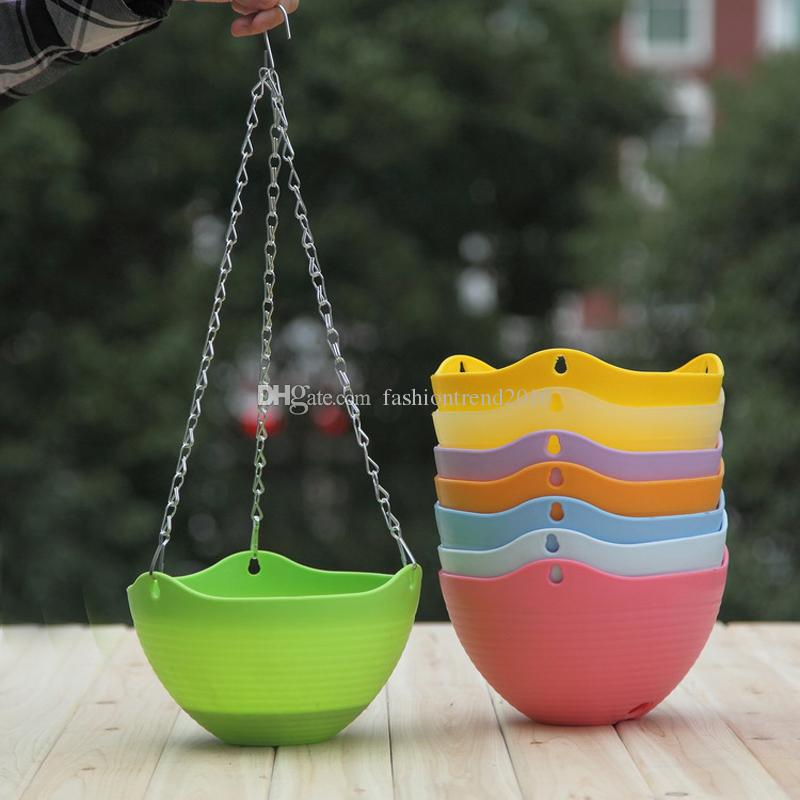 Hanging Flower Pot Garden Plant Pot Home Decoration FEDEX