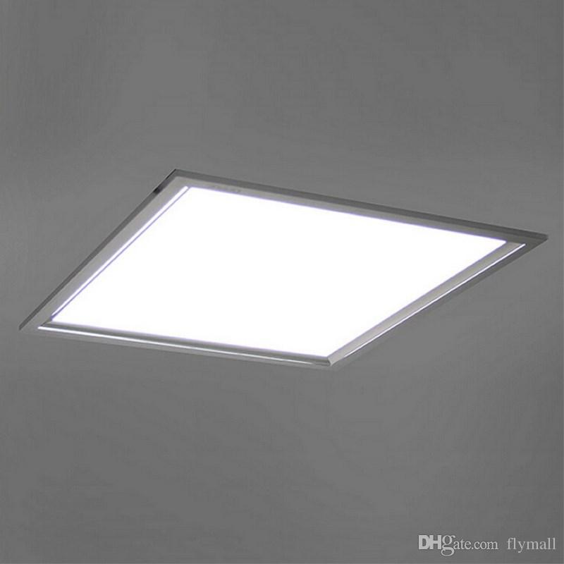 Super Bright 600*600mm LED Recessed Panel Light 36W 48W 4800LM SMD2835 Square LED Panel Ceiling Light Downlights with Aluminum Frame