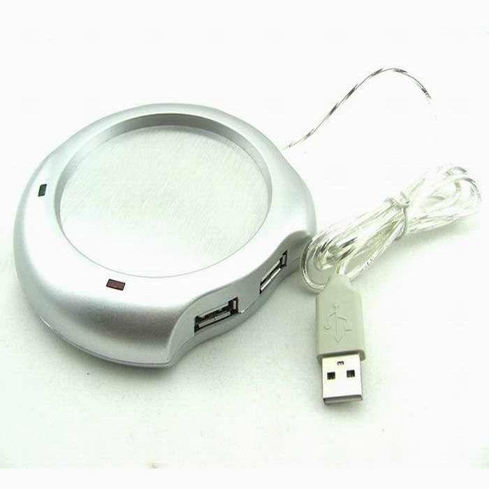 4 Port USB Tea Coffee Cup Mug Warmer Heater Pad Powered From Hub PC &Wholesale Alipower