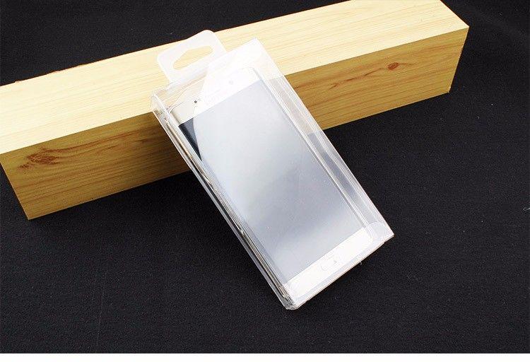 100 adet için Popüler Temizle PVC transparentretail kutusu telefon kılıfı kutuları ambalaj Perakende Paket kutuları Için iPhone durumda