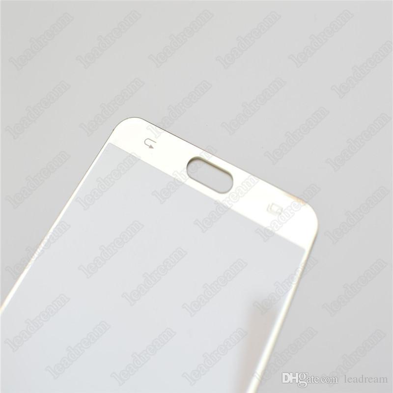 Remplacement de la couverture de verre de l'écran tactile avant pour Samsung Galaxy Note 5 N9200 Glass