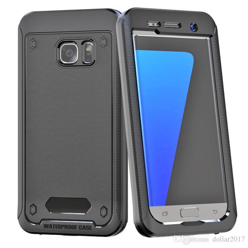 baf863924fb Diseños De Fundas Para Celular Funda Impermeable Para IPhone 6 6s Plus  Samsung Galaxy S7 S6 Edge Plus Note 5 Cubierta Protectora De Cuerpo  Completo ...