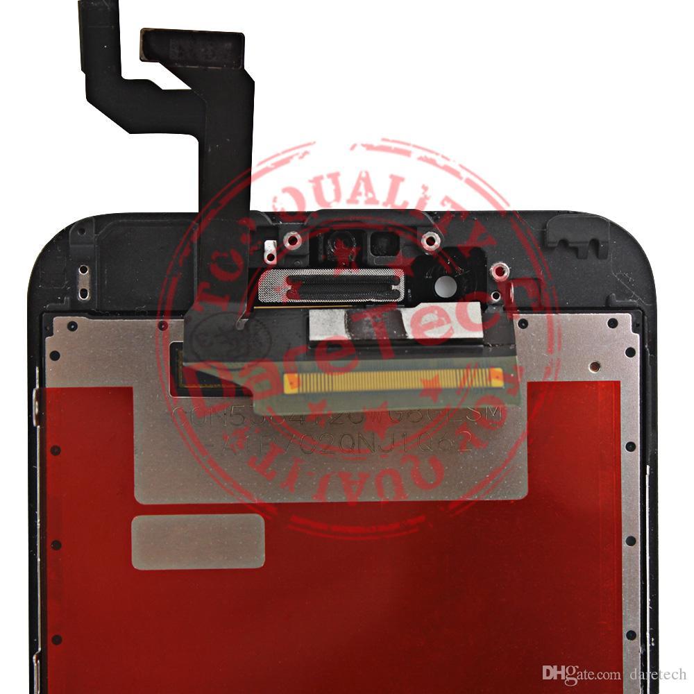 عرض LCD للآيفون 6 6S معينة 4.7inch 6 6S زائد 5.5INCH LCD استبدال الشاشة التي تعمل باللمس مع الشحن المجاني