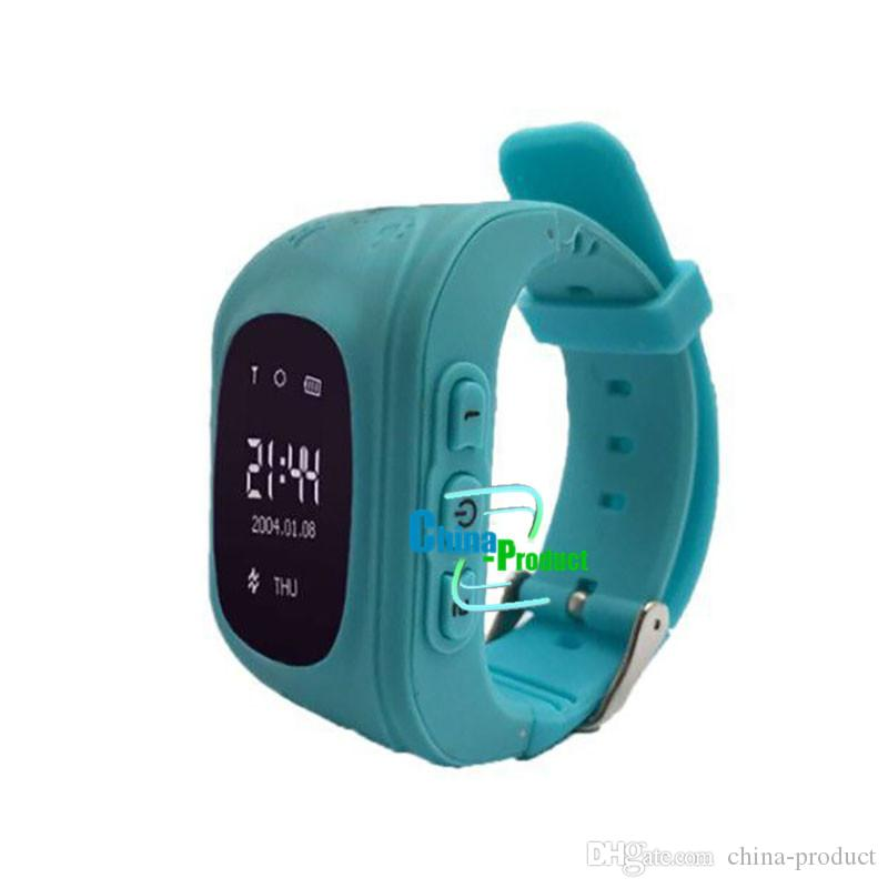 Kids GPS Tracker Children Student SmartWatch Phone SIM Quad Band GSM Safe Call PK For Android Apple Smart Watch Sim Card