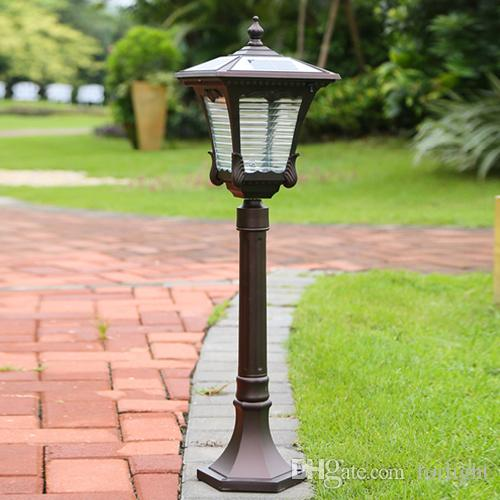 Online Cheap Solar Power Led Garden Street Lights Super Bright Outdoor  Waterproof Garden Lights Led Solar Lights Home Post Lamps Outdoor Villa  Deck By ...