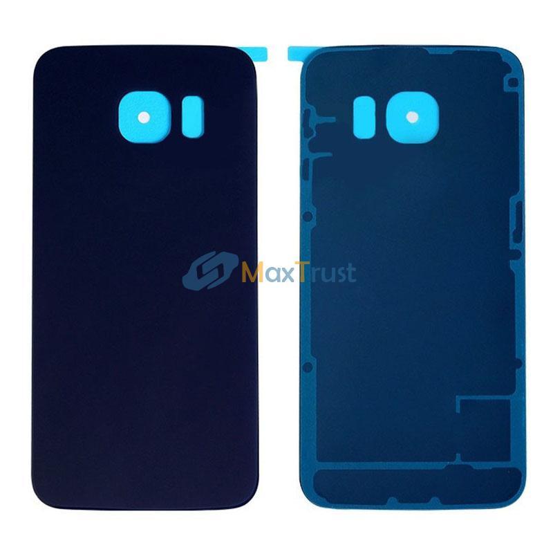 Top-Qualität für Samsung Galaxy S6 Rand G925 G9250 G925F Batterieabdeckung Heckrücken Gehäusetür mit Klebstoff 3 Farbe