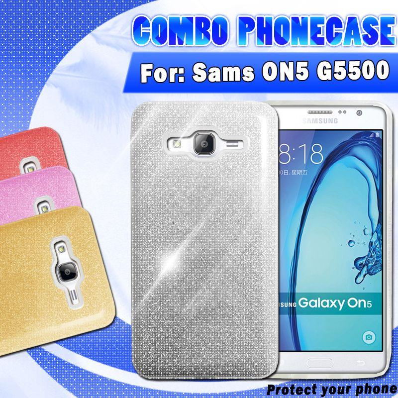 2017 New design Flash powder paper TPU+PC For Samsung ON5 IP5GS IP6GS IP6 PLUS IP7 PLUS phone case