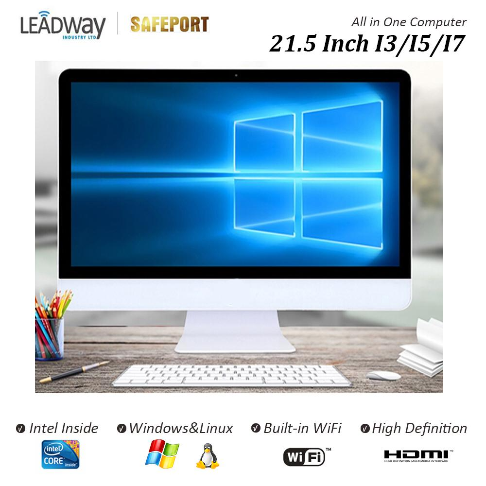 Desktop Computer All In One New From China Factory Intel Quad Core J1900 4g Ram 120g Ssd A Screen 21 5 Inch Computers