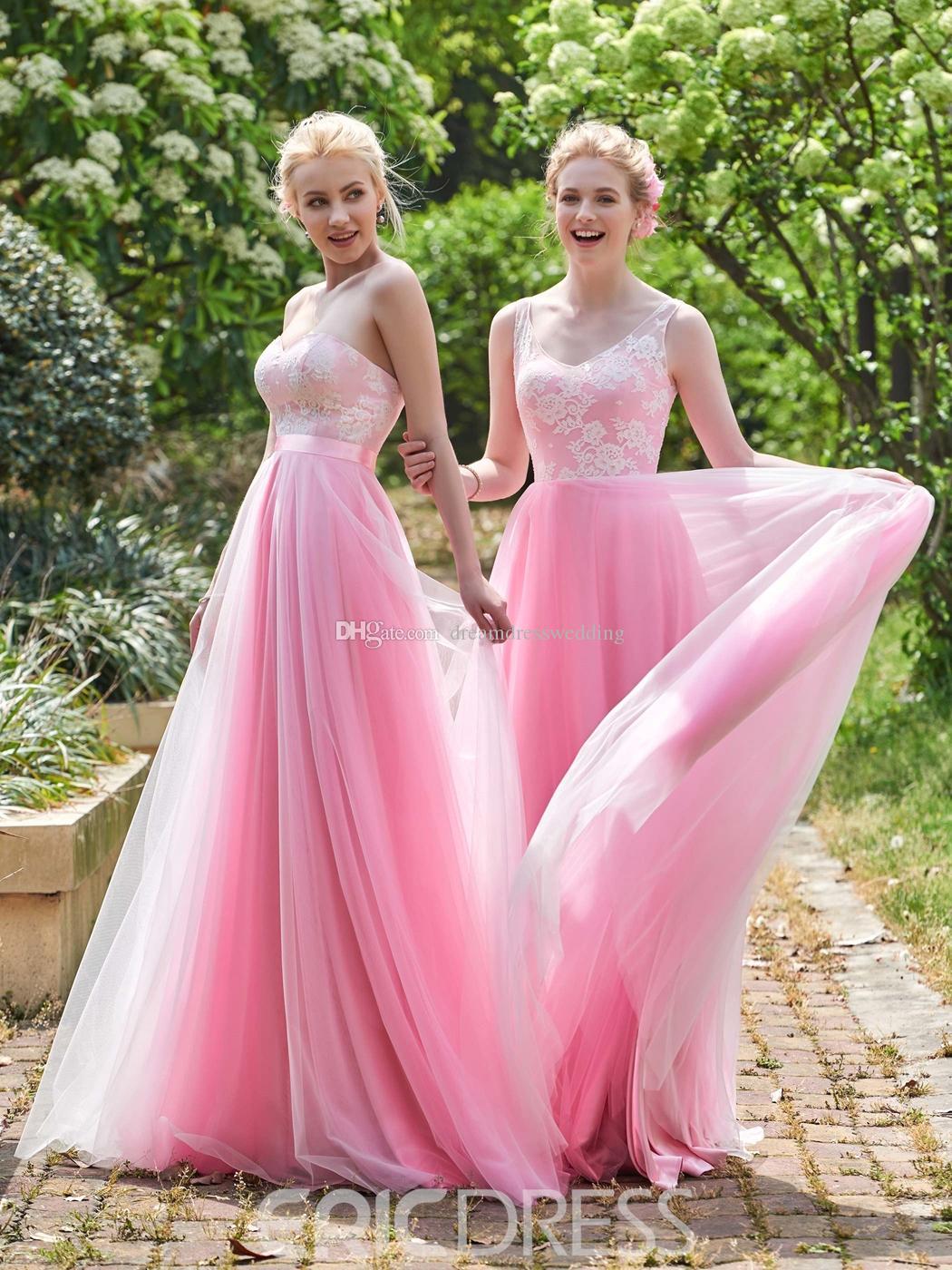 Compre 2017 Vestido Largo Tamaño 2 28w Una Línea De Baile De Fin De ...