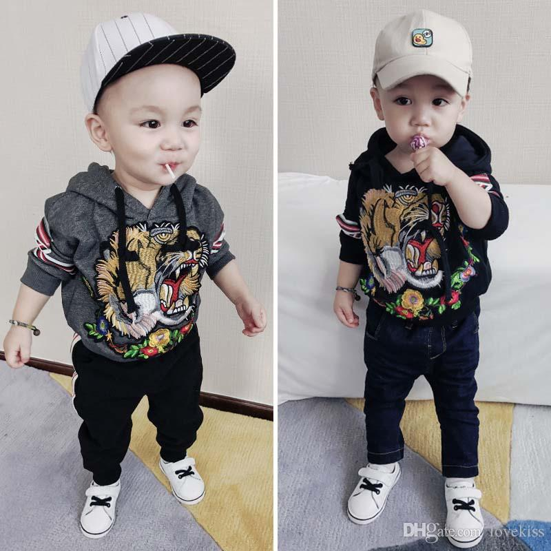 new winter children hoodie sweatshirts long sleeve embroidery tiger boys hoodie kids sports hoodies hooded boy tops baby boy clothing a1269 from