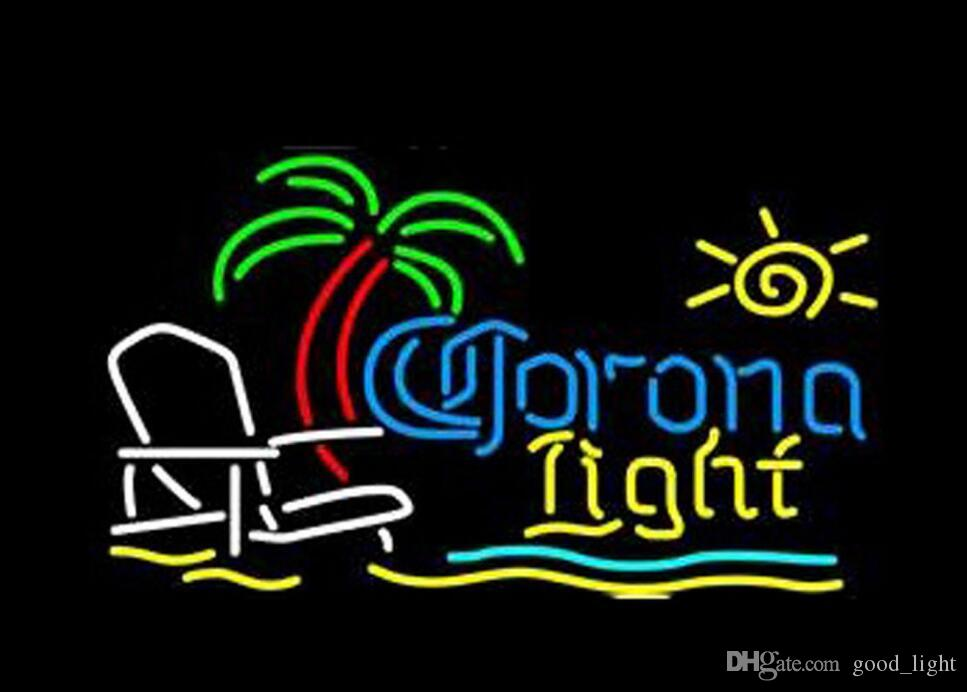 2018 corona light palm tree beach chair neon light sign beer bar 2018 corona light palm tree beach chair neon light sign beer bar pub club 17x14 from goodlight 22111 dhgate mozeypictures Images