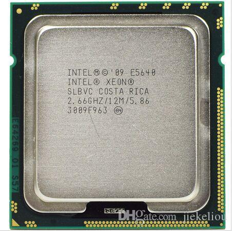 E5640 Original Intel Xeon E5640 2.66GHz 12MB 5.86GT/s SLBVC CPU LGA1366 Server Processor
