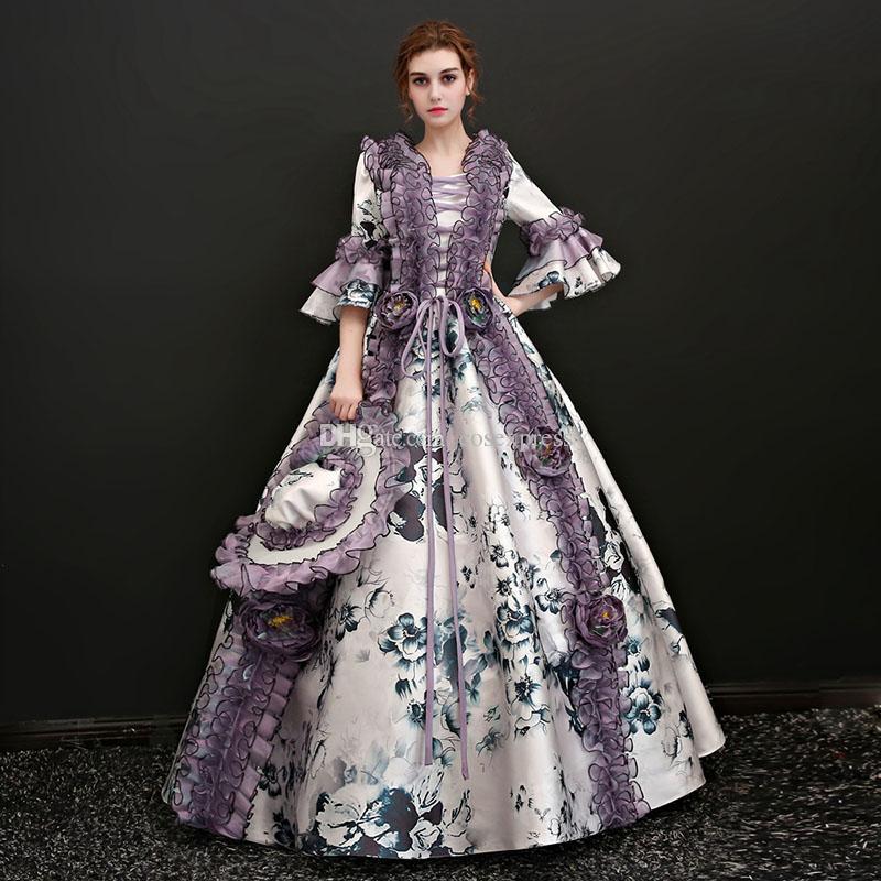 Antoinette Kleider Prinzessin 2017 Maßgeschneiderte Großhandel Marie edxBroWC