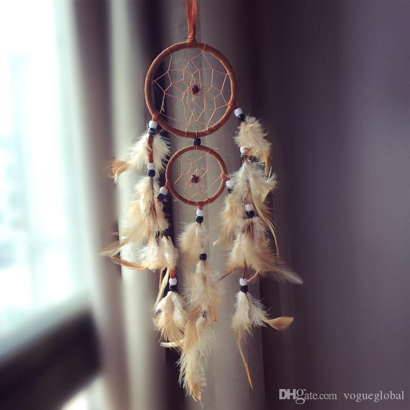 Dream Catcher Hangings Decor Dreamcatcher accessori regalo di compleanno anello grande paragrafo