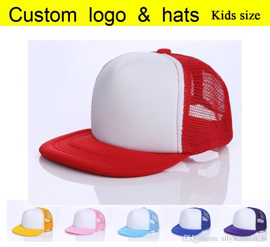 400cd45e8fa84 Flat Brim Mesh Cap Blank Candy Color Baseball Hats Male Female Outside Net  Caps Hip Hop Hats Adult Casual Peaked HatKids Flat Brim Mesh Cap Headwear  Flat ...