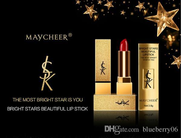 novas chegada atacado de maquiagem maycheer lábios batom mordida Estrelas hidratação da pele com duração úmido colorido