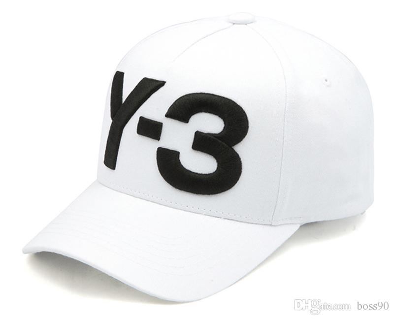 cd477042bb091 Denim Black New Y 3 Dad Hat Big Fatty Embroidered Logo Baseball Caps  Adjustable Strapback Caps Y3 Hat Gorras Bone Swag Casquette Custom Hats  Mens Hats From ...