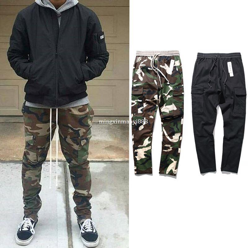 Army Camo Cargo Pants Fashion Camouflage Pants Men Black New African  Clothes Hip Hop Street Jumpsuit Camo Cargo Men S Tracksuits UK 2019 From ... bd9b5360b7b