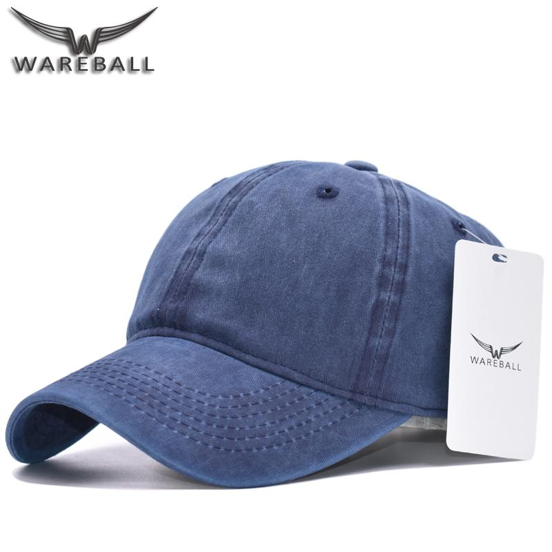 Wholesale WAREBALL High Quality Washed Cotton Adjustable Solid Color Baseball  Cap Unisex Out Caps Fashion Leisure Casual Snapback Hat Superman Cap Hat ... 9c77e092e04f