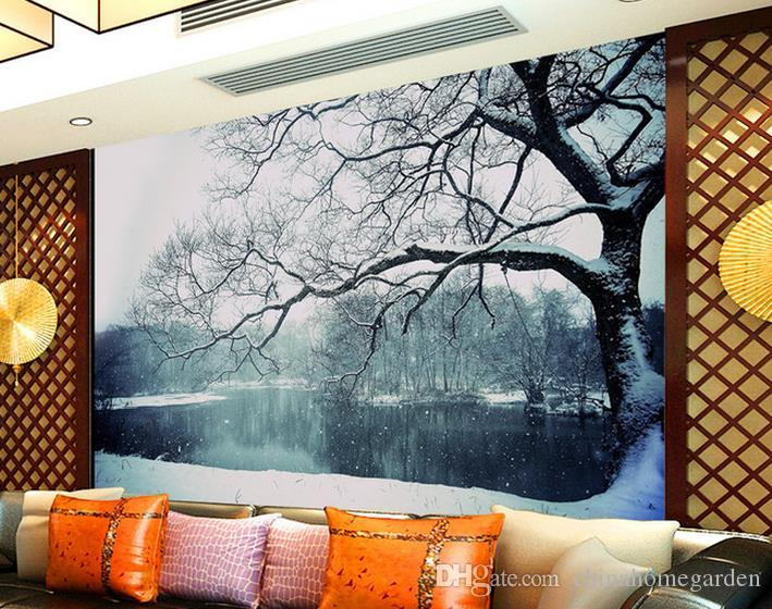 Beautiful 3d Feng Shui Tree Living Room Tv Wall Mural Wallpaper Papers For Backdrop Computer Wallpapers Backgrounds Contemporary