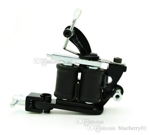 Black Tattoo Machine 10 Coil High Quality Tattoo Machines For  Ink Cups Tips Kit Hot Sale