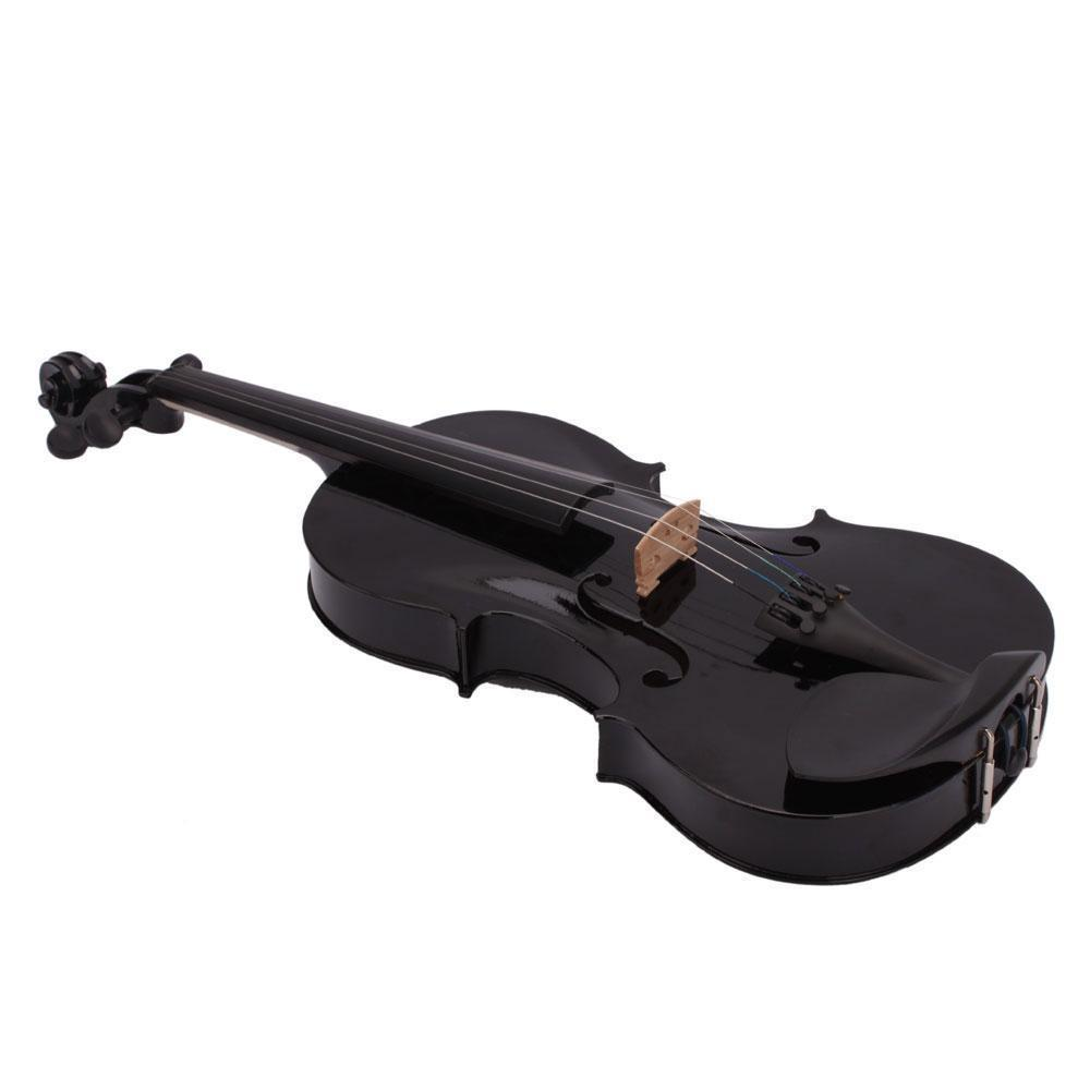 wholesale SYDS 4/4 Full Size Acoustic Violin Fiddle Black with Case Bow  Rosin