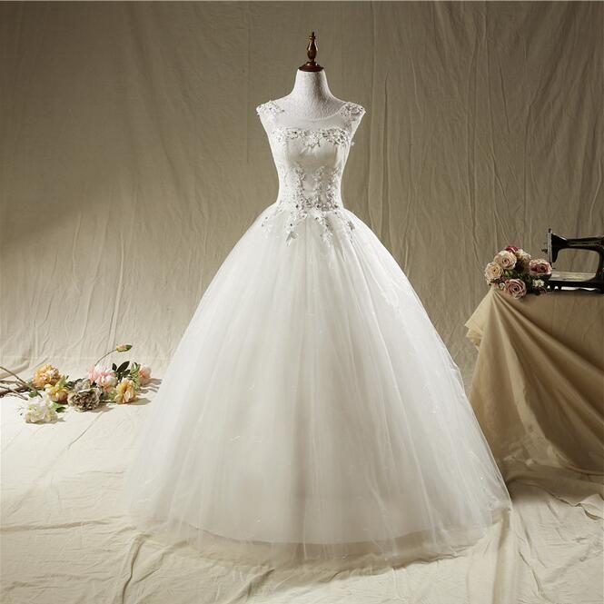 Vintage Style Designer Wedding Dress Hot Sale Sleeveless Luxury ...