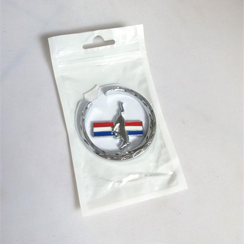 Car styling 3D CHROME METAL EMBLEM MUSTANG HORSE 6.2*5.9CM emblem car body sticker decal badge universal