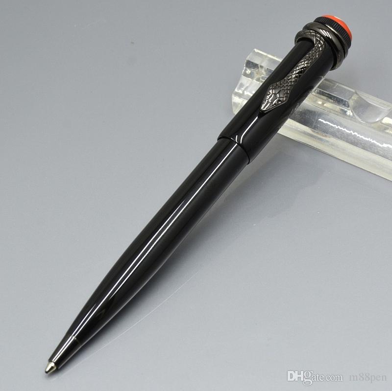 высокое качество Змея клип ролик ручка / Шариковые ручки хорошо канцелярские уникальные подарочные ручки Письменные