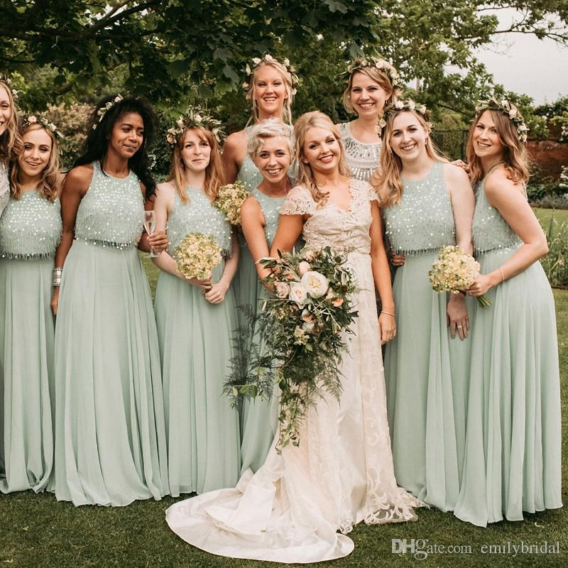 Bohemian bridesmaid dresses wedding wedding ideas for Bohemian dresses for a wedding guest