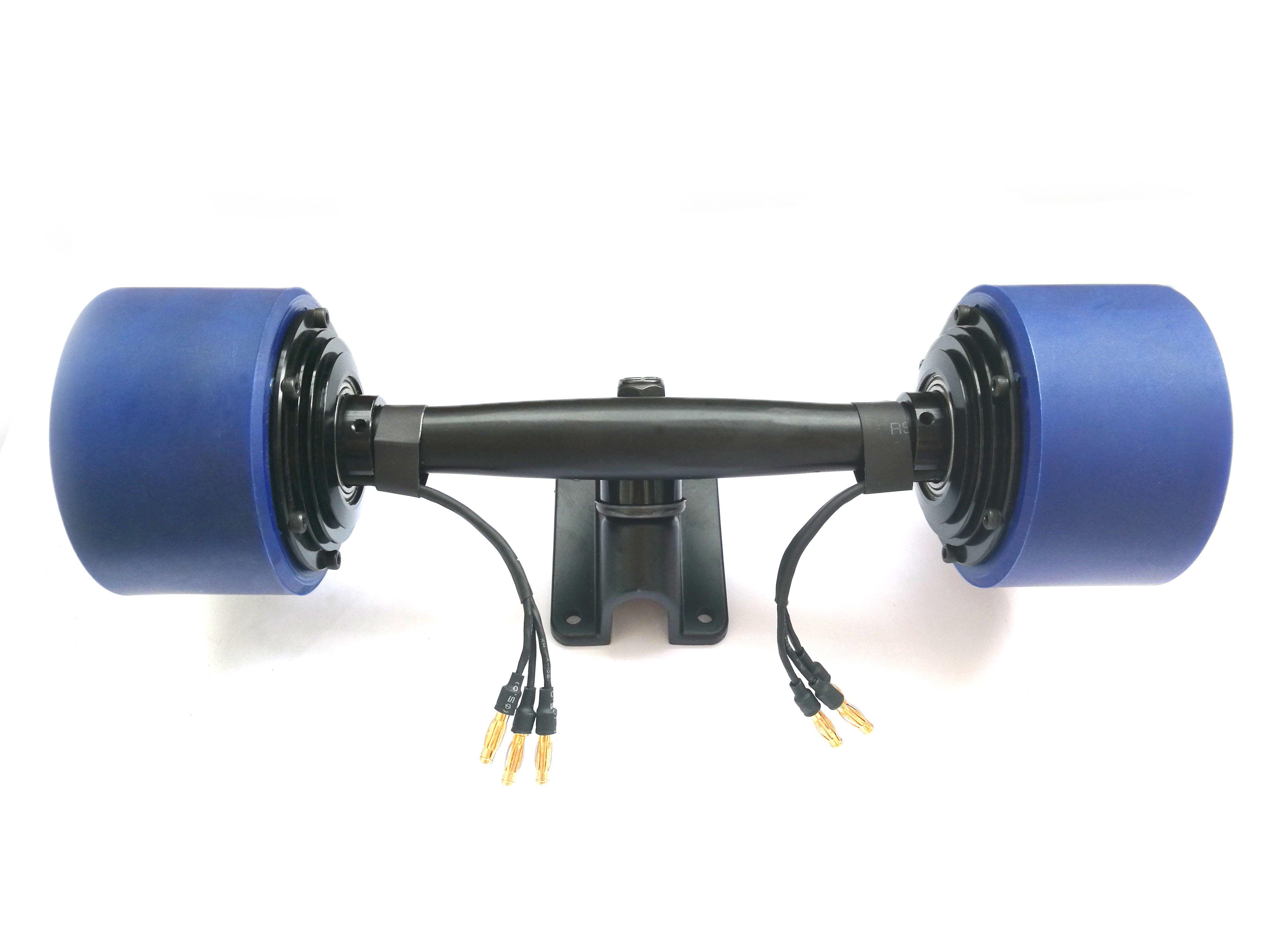 2018 dual hub motor kit for electric skateboard longboard. Black Bedroom Furniture Sets. Home Design Ideas