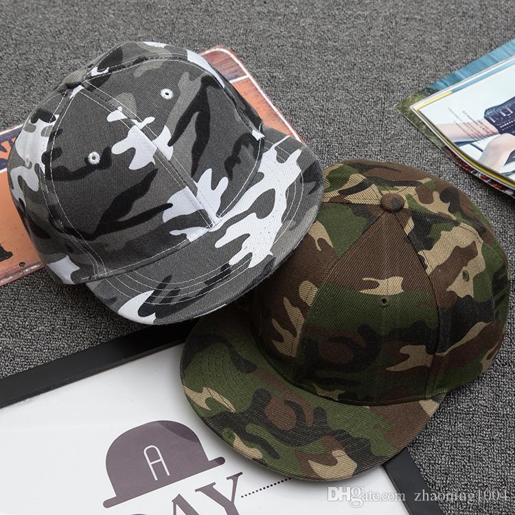 b664ab30f1f Quality Designer Plain Camouflage Hip Hop Hats Adjustable Snapbacks ...