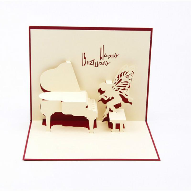 Piano happy birthday 3d pop up paper laser cut greeting cards baby piano happy birthday 3d pop up paper laser cut greeting cards baby shower birthday souvenirs wishes customized invitations send virtual gift card sending a m4hsunfo