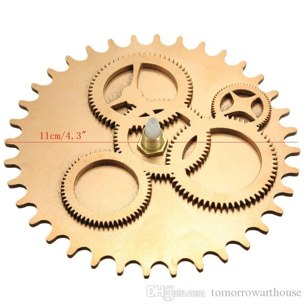 Vintage DIY Clock Mechanism Clock Movement Retro Gear Large Wall Clock Home Decor