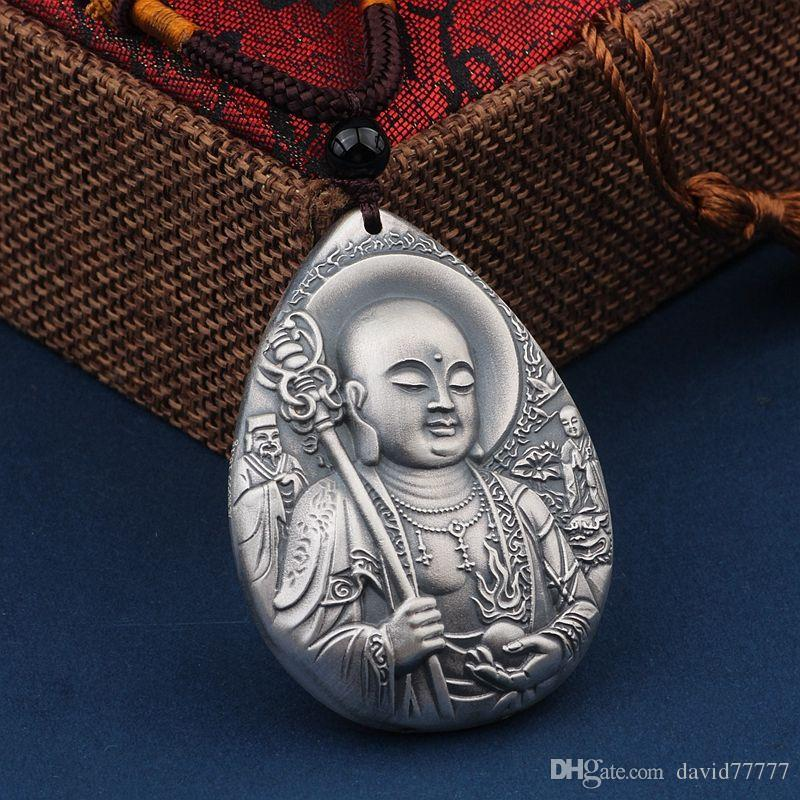 Wholesale jewelry silver necklaces pendants womens necklaces s999 wholesale jewelry silver necklaces pendants womens necklaces s999 silver plated pendants buddhas bodhisattva silver plated pendants costume jewelry mozeypictures Gallery