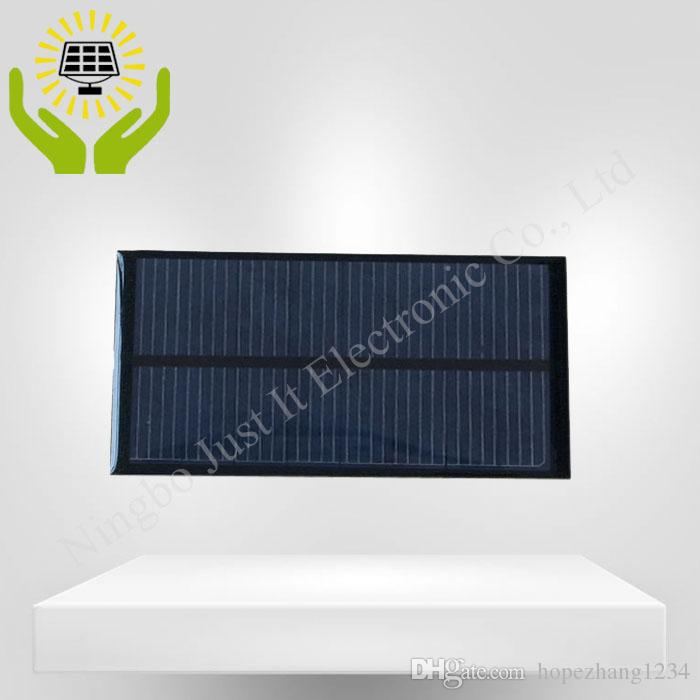 / راتنجات الايبوكسي الصغيرة لوحة للطاقة الشمسية 4V 180mA 110 * 55mm