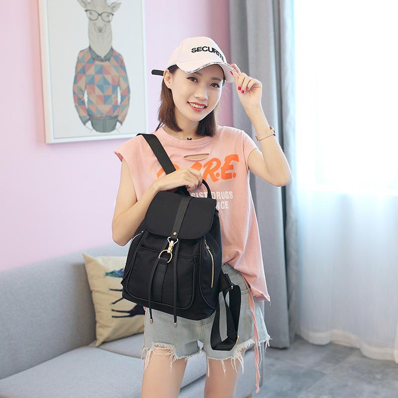 Fashion Brand Women Bag Backpack Waterproof School Bags Pretty Style Students Backpack Female Shoulder Bag for Teenager Girls
