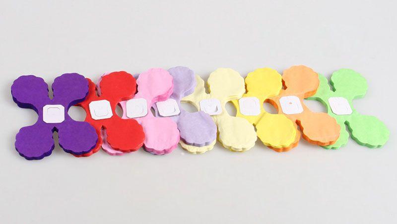 Guirlandes de papier colorées à quatre feuilles de trèfle pour le mariage de fête à la maison / Baby Shower / Kids Birthday Party Festival Décoration ZA3036