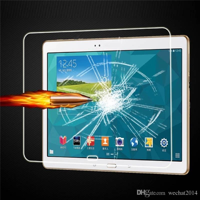 30 STÜCKE Explosionsgeschützte 9 H 0,3mm Displayschutzfolie Gehärtetes Glas für Samsung Galaxy Pro 10.1 T520 T525 freies DHL
