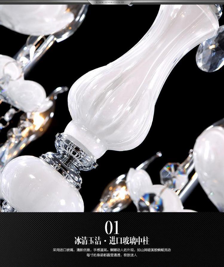 10 candle chandelier crystal garden chandelier crystal light chandelier white modern minimalist living room dining room bedroom