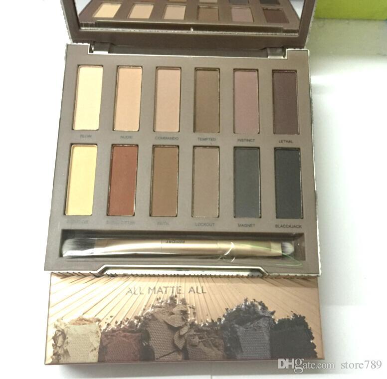 В наличии! Hot Makeup Nude Ultimate Основы Lidschatten Matte Farben Matte 12 цветная палитра для век