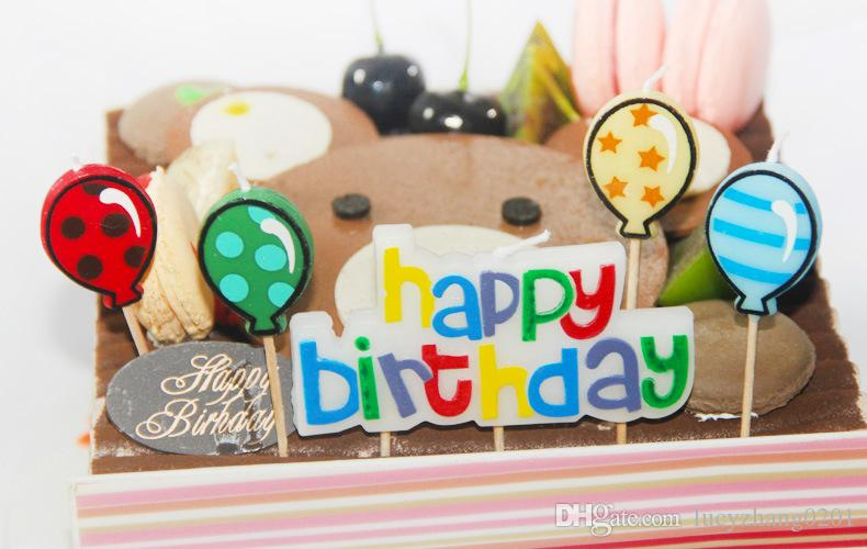 Birthday Party Candles Birthday Cake Toppers Candles Decoration