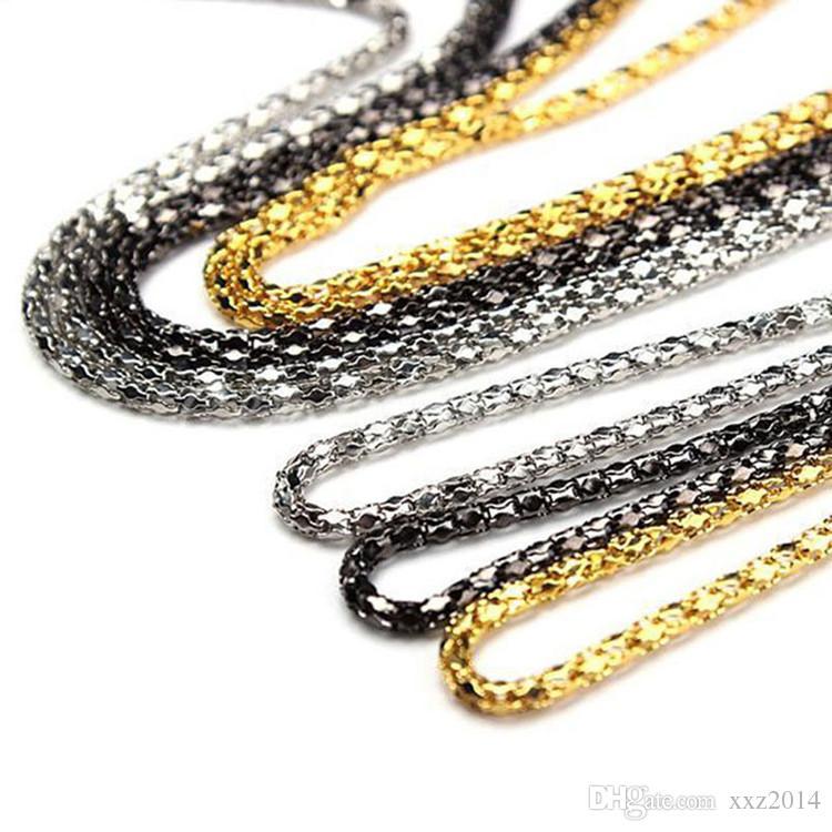 Prezzo all'ingrosso economico della catena del metallo degli occhiali da sole del supporto dei cavi della catena antisdrucciolevole dei vetri di lettura