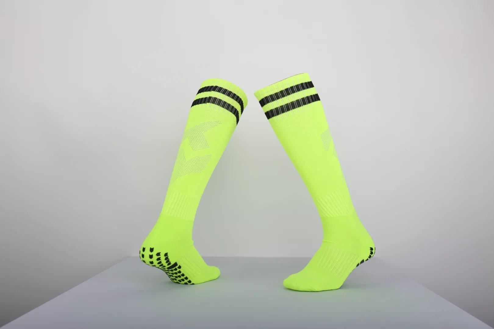 fb08fdc54 New Arrive Anti Slip Football Long Socks For Men Thick Towel Bottom In Tube  Sport Soccer Adult s Knee High Socks Men s Non-slip Stockings