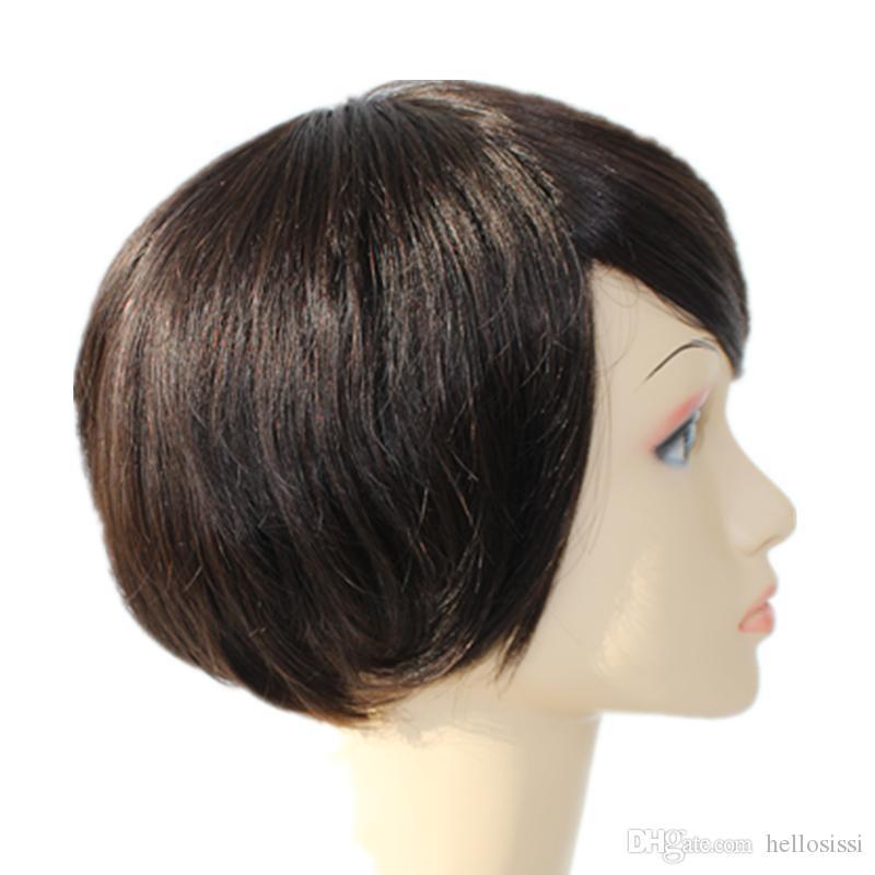 Short lace full Pixie cut short Brazilian Human pixie hair wigs peruvian hair pixie cut wig human cut hair wigs