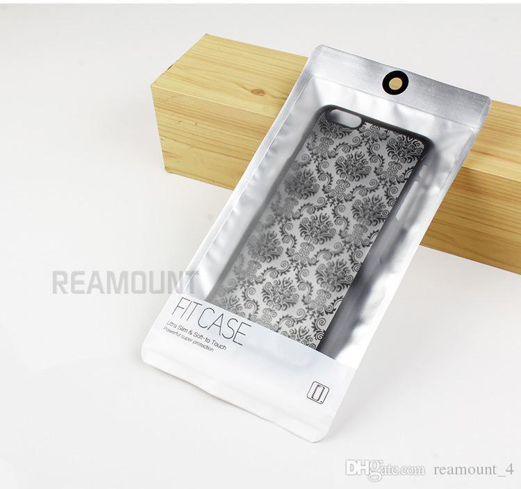 Wasserdichter Reißverschluss-Kunststoff-Großhandelspaket-Großhandelstasche für iPhone 6 6 Plus Telefonkasten-Verpackungsbeutel für Google Pixel LG G6