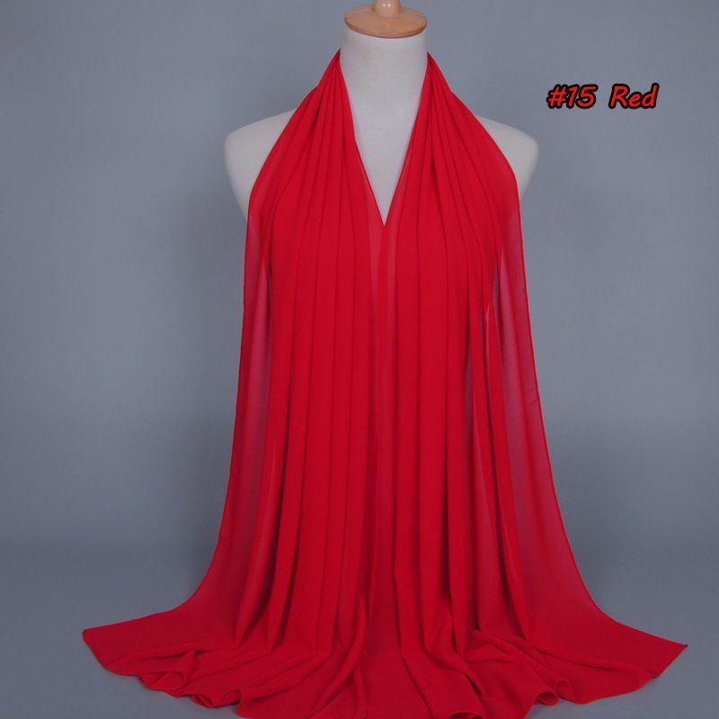 78 цветов мусульманские женщины хиджаб шарфы 2018 продажа высокого качества сплошной цвет этническая Жемчужина шифон шарф пузыря горячие